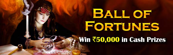 online rummy competition ball of fortunes