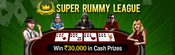online rummy promotion super rummy league