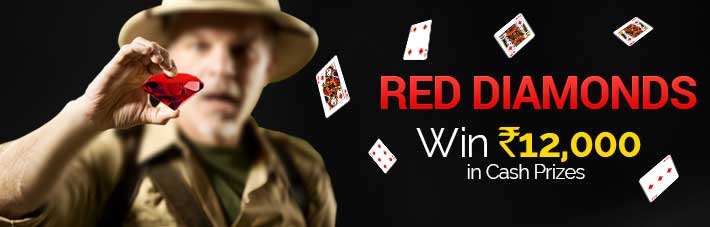 rummy contest red diamonds