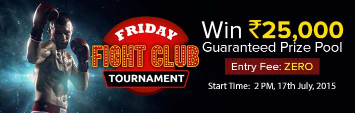 freeroll rummy tournament