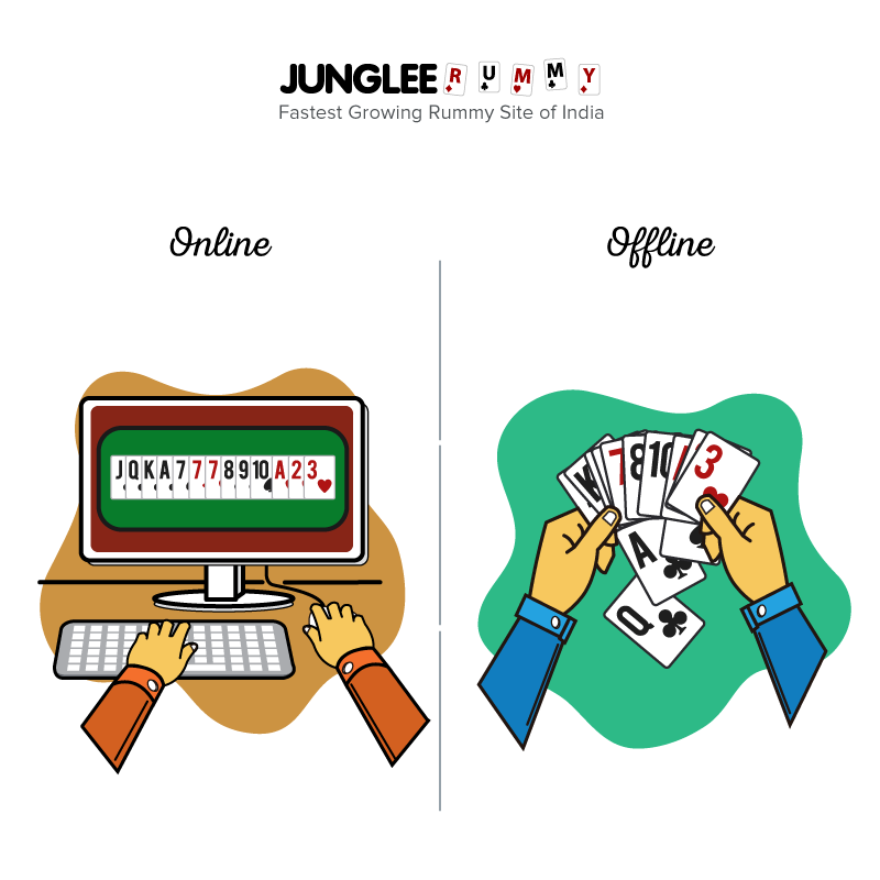 Types of gamers - Junglee Rummy