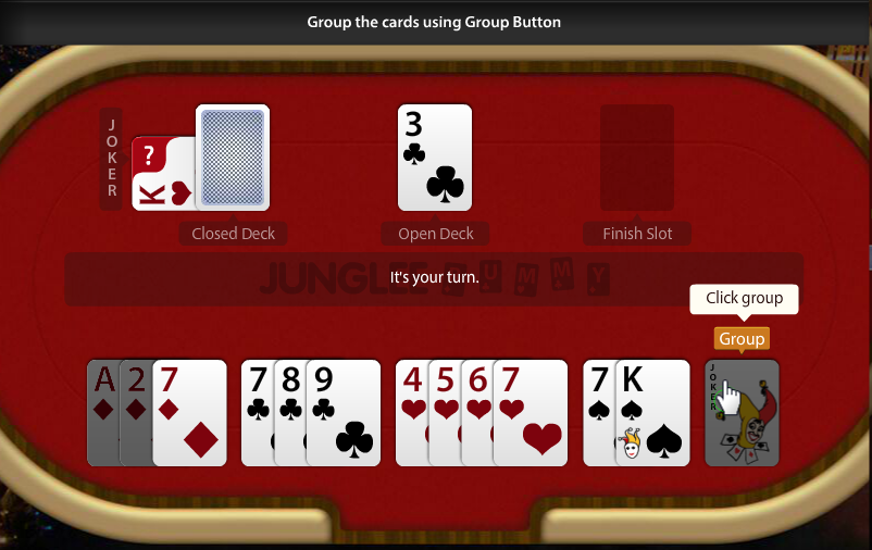 Grouping the Cards