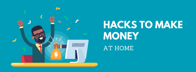 5 hacks to make money at home [Clue: It's not a typing job]