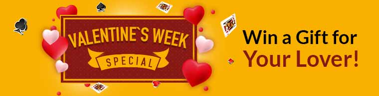 Valentine's Week with Junglee Rummy