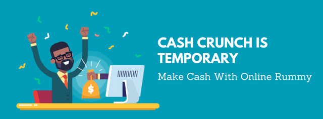 Cash Crunch is Temporary