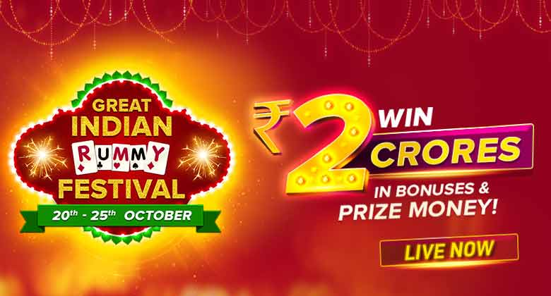 The great indian rummy festival