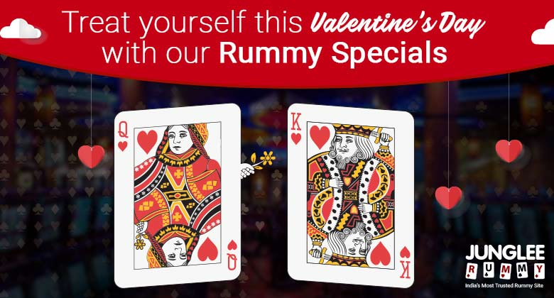 Treat Yourself This Valentine's Day With Our Rummy Specials