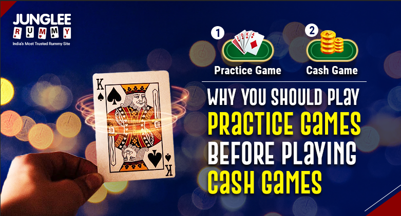 Why You Should Play Practice Games Before Playing Cash Games
